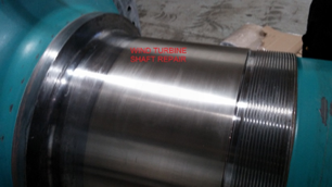 Windturbine Shaft Repair - Nickel | AFTER