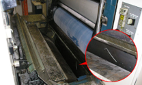 Paper Machine Roller Repair | AFTER