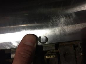 Printing Roller Repair | BEFORE